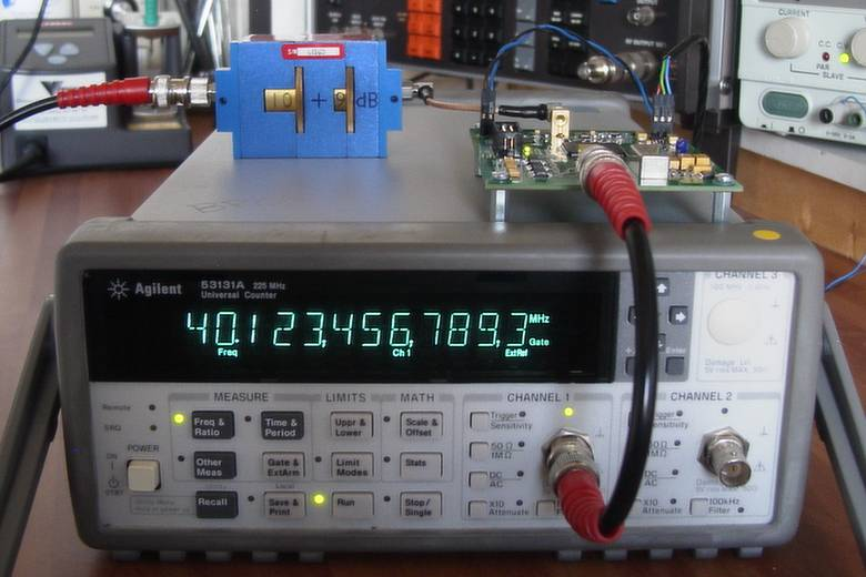 38-76 MHz Fractional-N Synthesizer