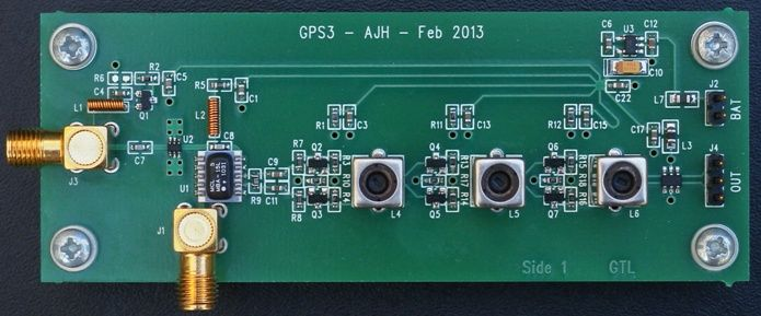 Homemade GPS Receiver